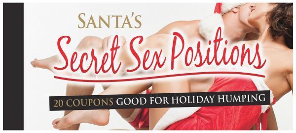 Santa's Secret Sex Position Coupons