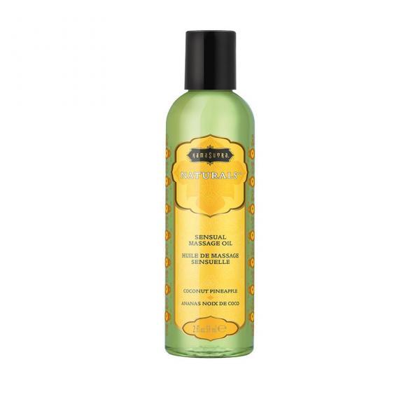 Naturals Massage Oil Coconut Pineapple 2oz