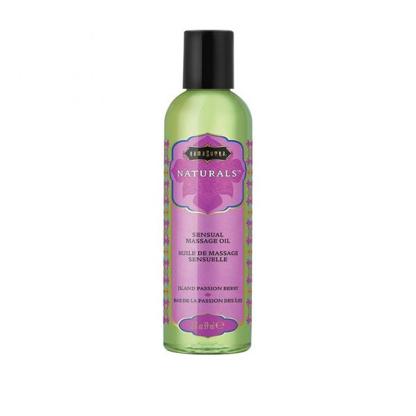 Massage Oil Natural Island Passion Berry 2fl Oz