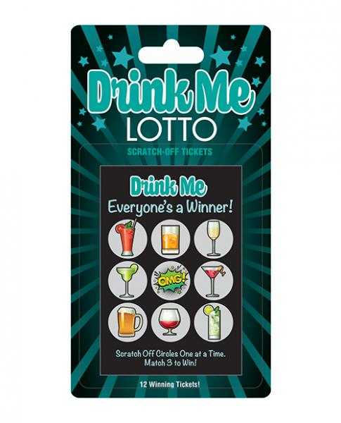 Drink Me Lotto Scratch Off Tickets 12