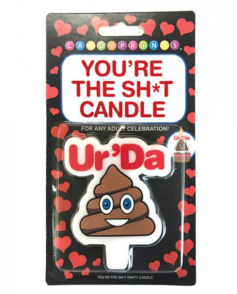 You're The Sh*t Party Candle Ur'da Sh*t