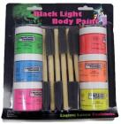 Blacklight Liquid Latex Body Paints 6 Brushes Kit Sex Toy Product