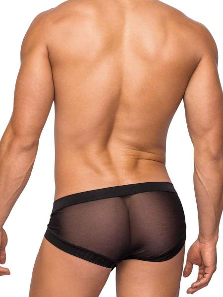 Hoser Stretch Mesh Micro Mini Hose Shorts XL Black