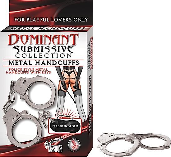 DOMINANT METAL HANDCUFFS