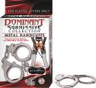 DOMINANT METAL HANDCUFFS Sex Toy Product