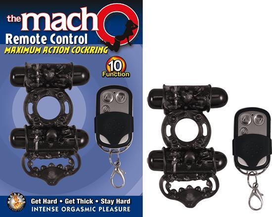 Macho Remote Control Cockring Black On Literotica-2078