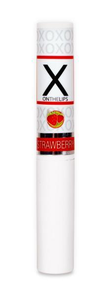 X On The Lips Strawberry Lip Balm
