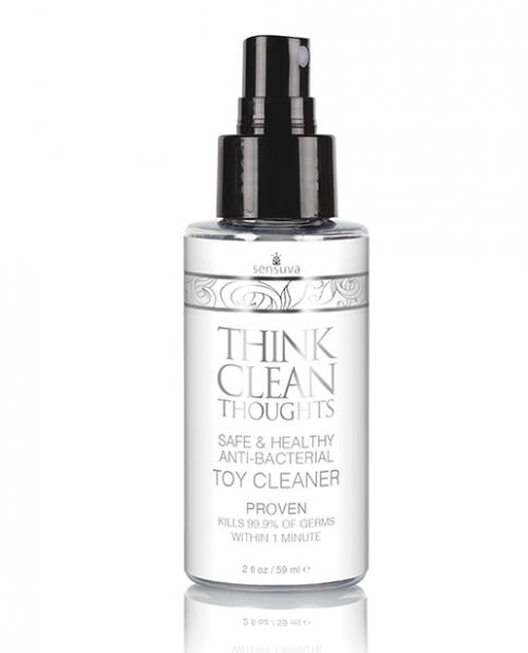 Think Clean Thoughts Toy Cleaner 2 Fl Oz