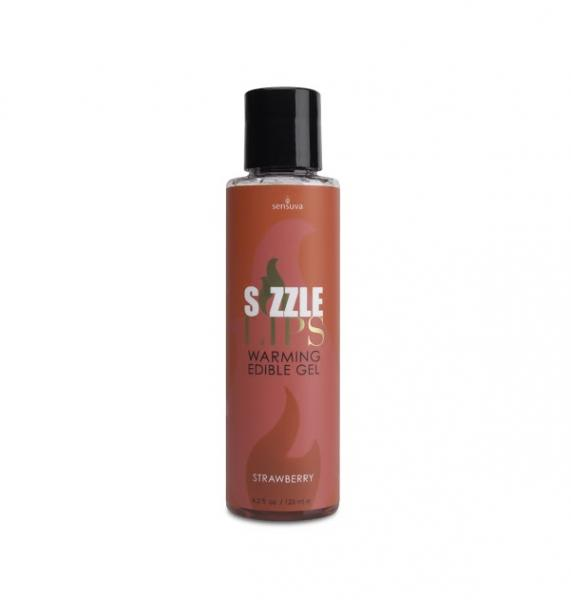 Sizzle Lips Warming Gel Strawberry 4.2oz