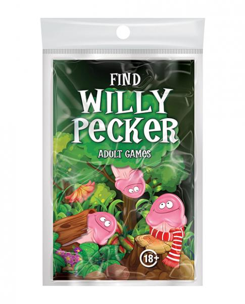 Find Willy Pecker Book