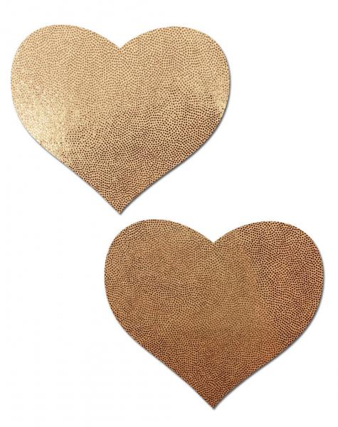 Pastease Love Liquid Rose Gold Heart Pasties