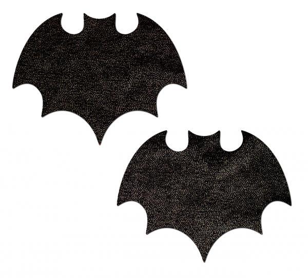 Pastease Liquid Black Bat Nipple Pasties
