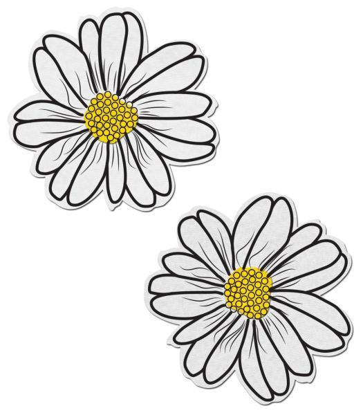 Wildflower White/Yellow Pasties