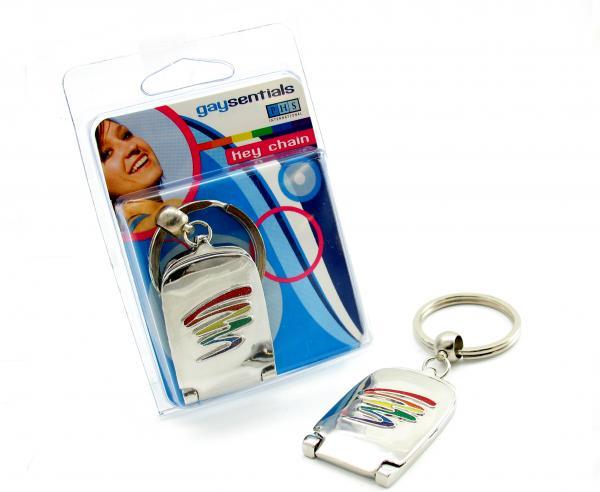 Pride Key Chain Mirror Bar