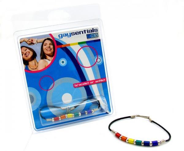 Gaysentials Aluminum Tube Beads Bracelet