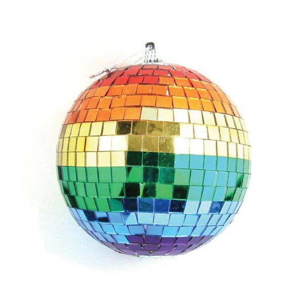 2 Inches Rainbow Disco Ball