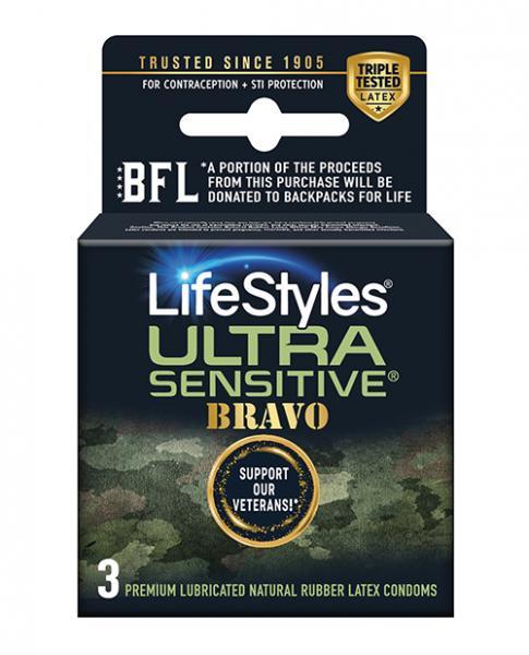 Lifestyles Ultra Sensitive Bravo 3pk