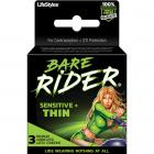 Bare Rider Thin Latex Condoms 3 Pack Sex Toy Product