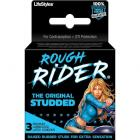 Rough Rider Studded Latex Condoms 3 Pack Sex Toy Product