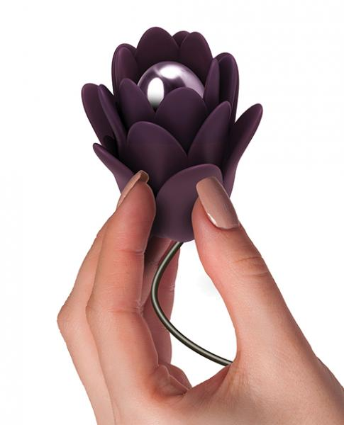 Zinnia Fleur D'amour Massager Purple