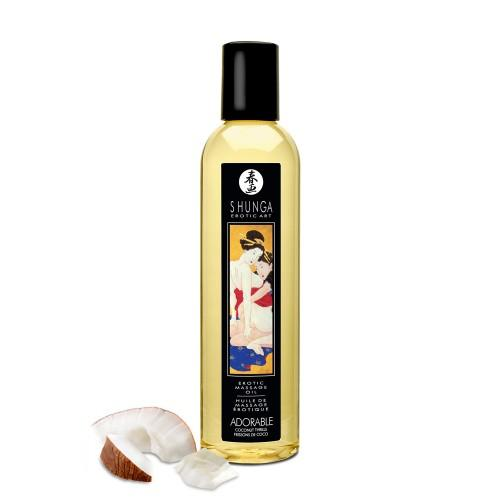 Erotic Massage Oil Coconut Thrills 8 fluid ounces