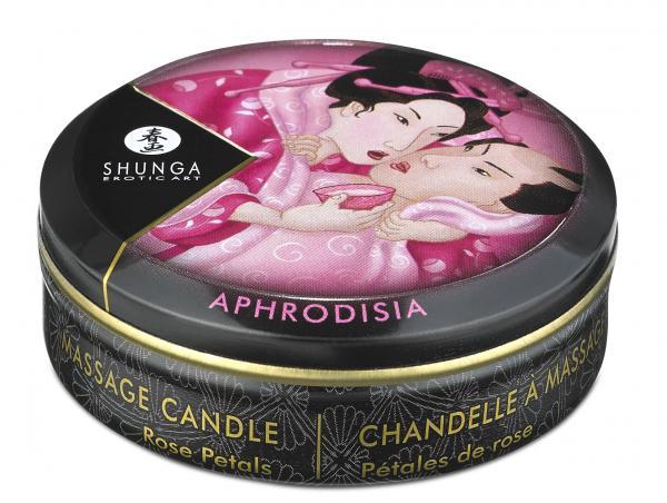 Massage Candle Rose Petals 1oz