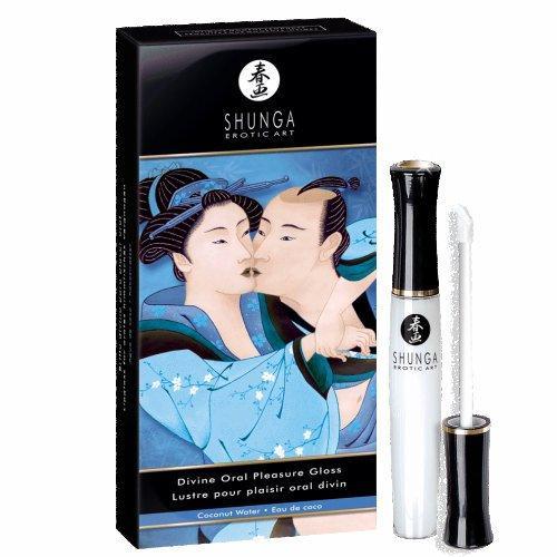 Divine Oral Pleasure Lipgloss Coconut Water .33oz