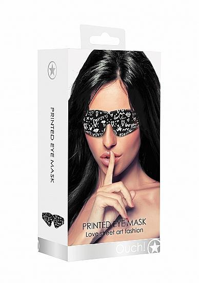 Love Street Art Fashion Printed Eye Mask