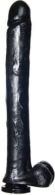 Exxxtreme Dong 16 Inches Suction Cup - Black