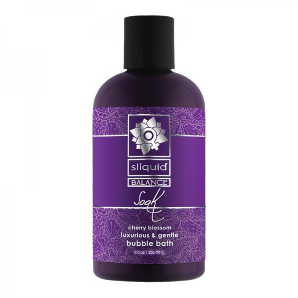 Sliquid Soak Bubble Bath Cherry Blossom 8.5 fluid ounces