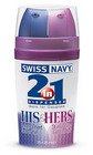 Swiss Navy 2 In 1 His and Hers Sex Toy Product