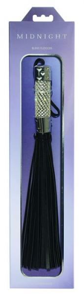 Midnight Bling Flogger Black