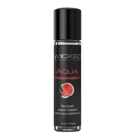 Wicked Aqua Water Based Lubricant Watermelon 1oz