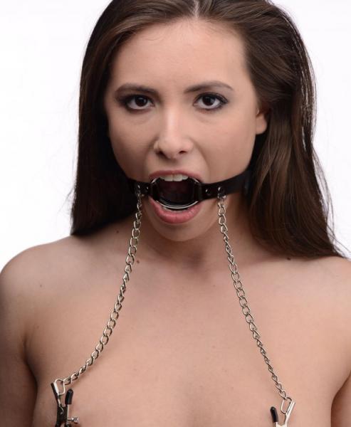 Seize O Ring Gag & Nipple Clamps