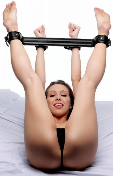 Something wife in spreader bar porn