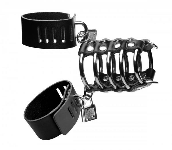 Strict Gates Of Hell Chastity Device Black