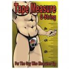 Male Power Tape Measure G-String Underwear O/S Sex Toy Product