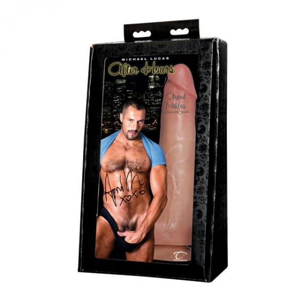 Michael Lucas After Hours Arpad Miklos Cock Dildo Sex Toy Product
