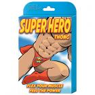 Male Power Novelty Super Hero Thong Red 1sz Sex Toy Product