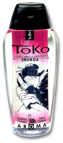 Toko Lubricant Toko Aroma Strawberry 5.5 fluid ounces