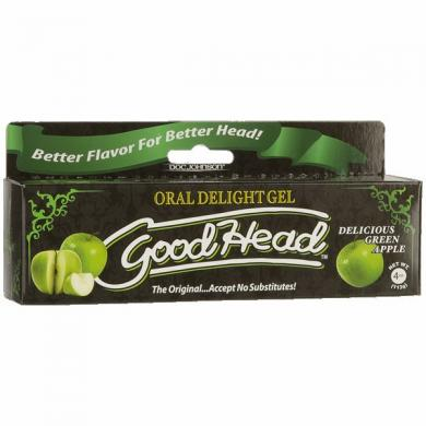 Goodhead Oral Delight Gel Green Apple 4oz Tube