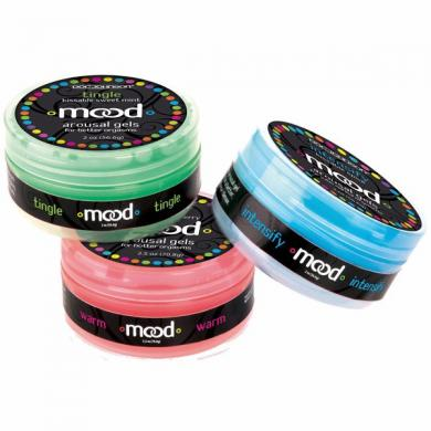 Mood Arousal Gels 3 Pack 2oz Jars