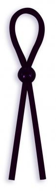 Silicone Cock Ties Cockring - Black Sex Toy Product