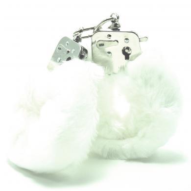 Love Cuffs Plush White