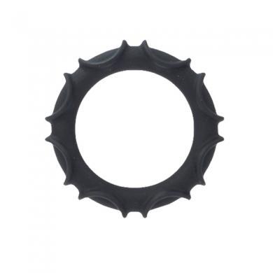 Atlas Silicone Ring- Black