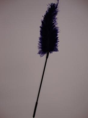Ostrich feather ticklers -Purple