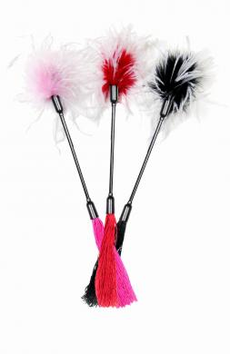 Whipper Tickler - Pink and White