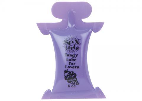 Sex Tarts Flavored Lubricant 6cc Pillow Grape Soda