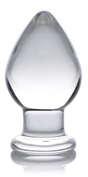 Prisms Molten Wide Glass Butt Plug Clear On Sextoycom-2067